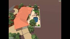 Silvyn Residence by Novak Enviromental  Rendering of a Private Residence using a combination of Artistic Paver products. Shellock was used to highlight some areas while Sotnelock was used on the pool deck. Roadlock Grand Canyon on the driveway.