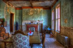Staff dining room, Preston Castle, Ione, CA Abandoned Asylums, Abandoned Castles, Abandoned Places, Amazing Buildings, Old Buildings, Abandoned Buildings, Preston Castle, School's Out Forever, Inside Castles