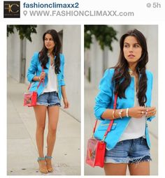Blue blazer!!