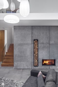 Best Snap Shots modern Contemporary Fireplace Strategies Modern fireplace designs can cover a broader category compared with their contemporary counterparts. Home Fireplace, Modern Fireplace, Concrete Fireplace, Fireplace Hearth, Christmas Fireplace, Fireplace Ideas, Christmas Decor, Contemporary Fireplace Designs, Modern Contemporary