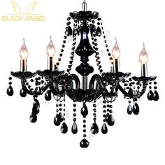 2017 Luxury Black Crystal Chandelier Living Room Lamp lustres de cristal indoor Lights Crystal Penda-  Item Type: Chandeliers  Style: Modern  Finish: Iron  Shade Direction: Down  Certification: CE,FCC,RoHS,CCC  Voltage: 90-260V  Model Number: 001  Power Source: AC  Body Material: Glass  Shade Type: Fabric  Switch Type: Touch On/Off Switch  Base Type: E14  Light Source: LED Bulbs  Is Dimmable: No  Is Bulbs Included: Yes  Installation Type: Semiflush Mount  Warranty: 3 Years  Features…