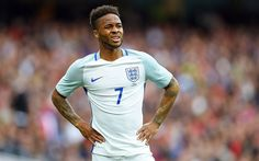 Download wallpapers Raheem Sterling, 4k, portrait, England, football, English footballer, England national team