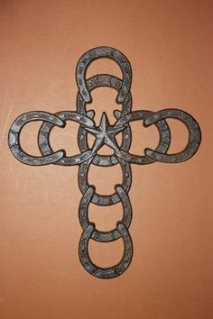 ONE,HORSESHOE,CROSS,COWBOY DECOR,RANCH DECOR, COWBOY CHURCH,COUNTRY DECOR