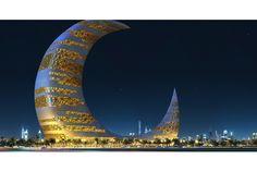 ドバイにお月さまがやってくるかも | roomie(ルーミー) Burj Khalifa, The Moon