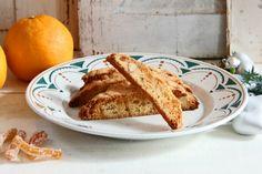 Biscotti med appelsinskal og marcipan