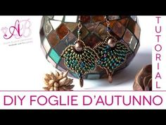 ▶ DIY: Tutorial Autumn leaf with Twin beads (for the 3rd competition artedeco) - YouTube