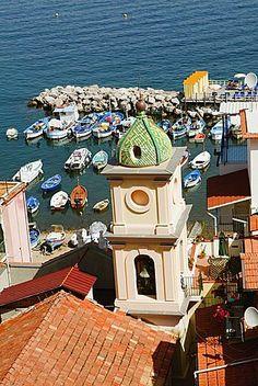 Iglesia de Santa Ana, Marina Grande, Capri, Sorrento, península de Sorrento, Provincia de Nápoles, Campania, Italia