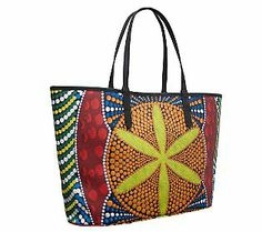 orYANY Ava Large Printed Coated Canvas Tote