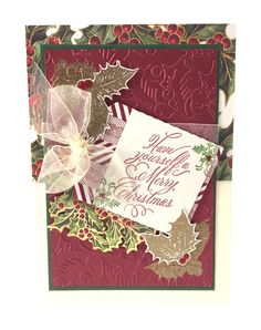 Anna Griffin 2015 Christmas Clear Stamps