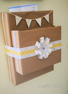 Craft Envy: DIY Mail Organizer