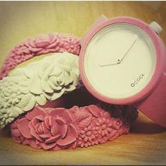 #obag #oclock #palermo #vincenzocusimanostyleoffice #o'bag #o'clock #pink #white #fullspot #accessories #flowers