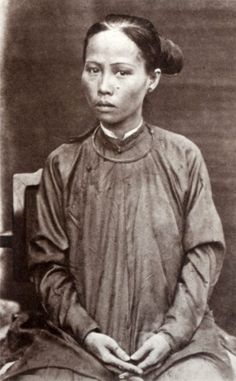 Qing Dynasty: 33 Rare Portrait Photos of Chinese People in the 1860s