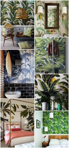 Paredes tropicales/ Tropical walls
