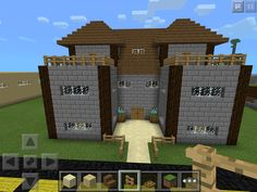 I play minecraft PC and PE and u just started a new survival world, I'm gonna build this. :)