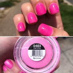Kiara Sky Dipping Powder in Pink Petal