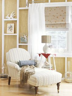 A Cozy Spot - Great for reading!  I also like the spotted shade.  It makes me think of bubbles!
