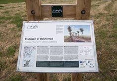 Das Zeichenlayout schafft die Verbindung von der Naturbehörde zum Geopark und ist Teil seiner visuellen Idenität.