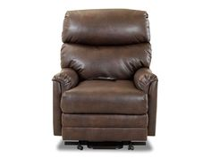 The Manning Recliner. Perfect for game day or movie nights.