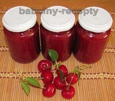 Višňový džem | Babčiny recepty Hot Sauce Bottles, Salsa, Jar, Food, Essen, Salsa Music, Meals, Yemek, Jars