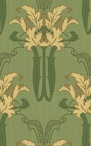 From aestheticinteriors.com. Sold as a fill roll with optional corresponding frieze.