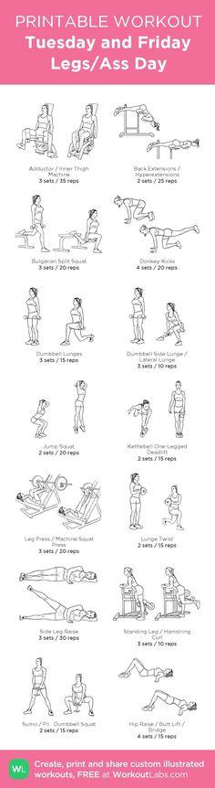 8: Legs en butt