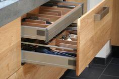 Ikea keuken met Koak Design eiken