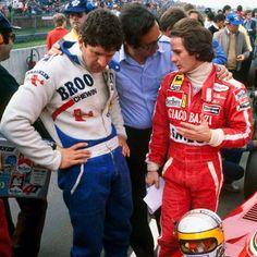 Jody Scheckter, Gilles Villeneuve & Mauro Forghieri 1979