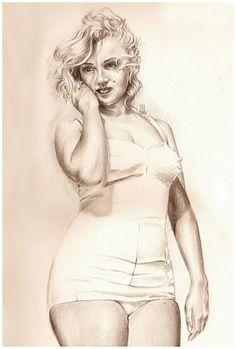 Marilyn Monroe ~ Art