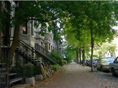 nights and more) - Apartments for Rent in Montreal, Quebec, Canada Montreal Vacation, Rooms For Rent, Cool Apartments, Pretty Green, Green Trees, Rue, Second Floor, Indoor Outdoor, Entrance