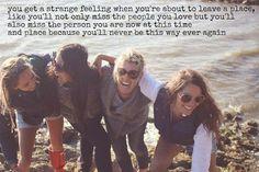 you get a strange feeling...