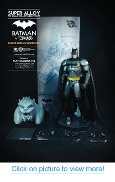 Super Alloy 1/6 Scale Collectible Figure - Batman By Jim Lee (Exclusive Edition)