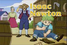 English    is    FUNtastic: Isaac Newton - video cartoon & videoscript