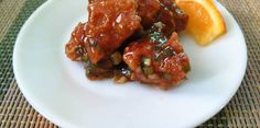 Here is a Chinese recipe that will surely suit your Pinoy taste! Orange chicken everyone! This dish is of Hunan origin. Hunan is a province in China. Yummy Chicken Recipes, Yum Yum Chicken, Fried Chicken, Tandoori Chicken, Happy Cook, Basic Chinese, Boneless Chicken Breast, Orange Chicken, Asian