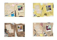 Book Cover Designs by Emily Rose Coxhead, via Behance
