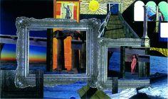 Palacio de Justicia (Collage 66 X 56 Cms)