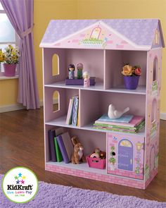Some of you have to get in on this: KidKraft Dollhouse Bookcase