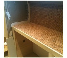 Cork Countertop how to us cork and epoxy to make a smooth as glass bar top