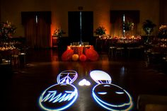 Custom Gobo Design - Wedding