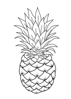 Fruits Coloring Pages Printable http://procoloring.com/fruits-coloring-pages/