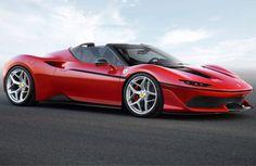 Ferrari J50, svelata una nuova roadster su base della 488 Spider.P&B.