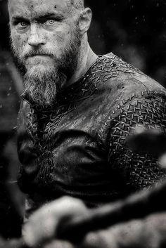 Travis Fimmel as Ragnar Lothbrok on Vikings (History)