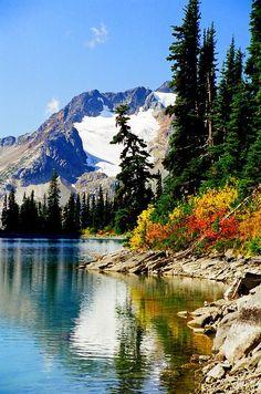 Rhor Lake - Whistler, British Columbia, Canada