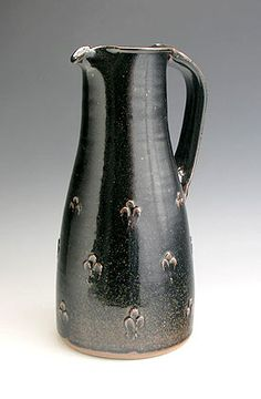 Ceramics by Jim Malone at Studiopottery.co.uk - 2006, first work from Lesson Hall Pottery, marked with an 'L'