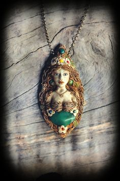 Goddess of Nature Queen of the flowers ooak Fully by PeaceElements