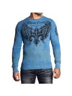 Men's T-Shirt Xtreme Couture Faith To Rise Thermal