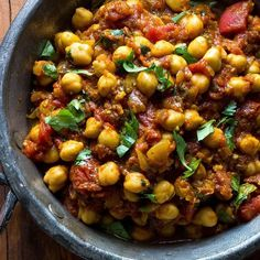 Made with convenient canned beans, this quick and healthy Indian recipe is an authentic chickpea curry that you can make in minutes.