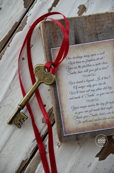 christmas-printable santa's key..if you don't have a chimney or fireplace!