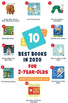 We came up with a list of the top quality books for two-year-olds. These stories are great to read aloud as a way to calm kids down, especially around bedtime. They feature gorgeously colored pictures. Some are classic, some are good learning tools, and others are simply funny. Check out our list to view our favorite picks. Teaching Kids, Kids Learning, Giraffes Cant Dance, Cool Toys For Boys, Best Educational Toys, How To Read Faster, Beloved Book, 2 Year Olds, Good Night Moon