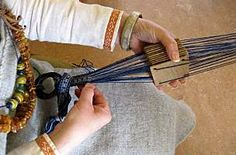 Tablet weaving and Viking clothing