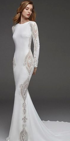 27 Fantasy Wedding Dresses From Top Europe Designers - Wedding Dresses Lace Fantasy Wedding Dresses, Sexy Wedding Dresses, Designer Wedding Dresses, Wedding Attire, Bridal Dresses, Wedding Gowns, Bridesmaid Dresses, Lace Wedding, Fantasy Dress